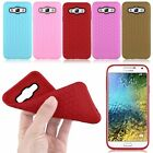 New Slim Soft TPU Silicone Rubber Gel Phone Case Cover Skin Fr Samsung Galaxy E5