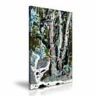 Abstract Forest and River Canvas Modern Wall Art Picture