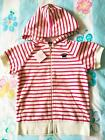 Juicy Couture Kids Dragonfruit Angel Terry Ruffle Pocket Hoodie NWT 10 12 14
