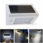 8-16 LED Solar Power PIR Motion Sensor Wall Light Outdoor Waterproof Garden Lamp