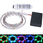 50-200CM 3528 LED Strip Lights with Battery Box Waterproof Craft Hobby Party