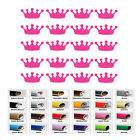 20 Crown stickers Vinyl Sticker for princess party cup decals girl kids birthday