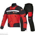 High Quality Men's Four Seasons Motorcycle Riding Suit Locomotive Clothes