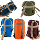 Outdoor Envelope Sleeping Bag Travel Camping Hiking Ultralight Multifuntion New