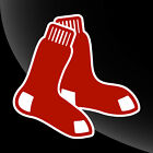 Boston Red Sox Socks Decal Sticker 3 Inch To 12 Inch