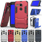 Protective Hybrid Rugged Shockproof Rubber Armor Case For Google Nexus 5X 6P