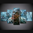 Framed Photo the walking dead zombies Picture Canvas Wall Art Home Decor poster