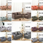 NEW! 100% Cotton 1 2 3 4 Seater Stretch Fitted Lounge Sofa Slip Cover Protector