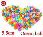 Hot colorful ball Soft Plastic ocean ball funny baby kid Swim Pit Toy 5.5cm