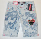 Jordache Girls Burmuda Jean Shorts Various Patterns and Sizes to Choose NWT
