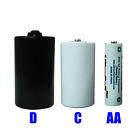 D cell, C cell, AA cell, Dummy battery spacer, Adapter, converter.
