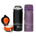Narita Thermos Vacuum Flask Insulated Stainless Steel Bottle Container 12 oz