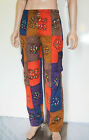 UNISEX HIPPY BOHO FESTIVAL PATCHWORK MEN'S SUMMER TROUSERS YOGA PANTS NEPAL