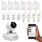 4 In 1 HD 720P WIFI Smart IP Camera For Home Security surveillance Alarm System