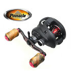 Pinnacle Primmus Shoreline Baitcasting Reel Graphite handle & Wood knob (PRS10)