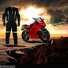 Outdoor Sports Waterproof Breathable Men's Motorcycle Riding Suit Four Seasons