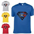 Superman Graphic Printing T-Shirt Adult T-Shirt S-3XL