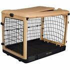 Pet Gear The Other Door Tan Steel Dog  Crates in 27