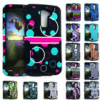 DESIGN Hybrid Armor Shock Proof Impact Phone Cover for LG K10 / Premier LTE Case