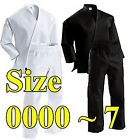 CUSTOM Printing KARATE gi Uniform on Back, Chest, Arm and Patch, size 0000~7