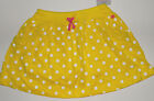 Carter's Girls Skorts Yellow or Green with Polka Dots Sizes 4, 5, 6 and 6X NWT