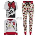 Primark Ladies Disney Minne Mouse Pieces Of Minnie Pyjamas Pj Pieces