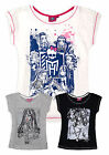 Girls Official Monster High T-Shirt New Kids Short Sleeved Tops Ages 8-14 Years