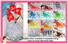 250pc Acrylic Ice Rock Crystals Cube Table Scatters Vase Filler Artificial Fake