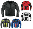 Icon All Sizes & Colors Overlord Resistance Motorcycle Riding Jacket