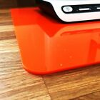 Orange Rectangle Surface Protectors Easy Wipe Clean for use on any Table or Desk