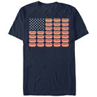 Lost Gods Fourth of July Hot Dog American Flag Mens Graphic T Shirt - Fifth Sun