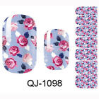 Flower Self Adhesive Nail Polish Foils Sticker Nall Art Decals Manicure Wraps