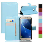 Luxury Flip PU Leather Stand Wallet Magnetic Case Cover For Samsung Galaxy C5 C7