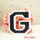 Letter A-Z Embroidered Iron On Patch Sew Motif DIY 1PC Applique Accessories9c