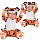 Christys Dress Up Childs Tiny Tiger New Baby Toddlers Fancy Dress Costume Outfit