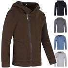 Men's Winter Warm Slim Hoodies Stylish Casual Zipper Outwear Hoodie Jacket Coats