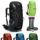Rrmovable frame Men women waterproof outdoor travel Hiking Camping Backpack 65L