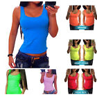 Women Summer Vest Top Sleeveless Shirt Blouse Casual Tank Tops T-Shirt New
