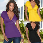 Fashion Women Summer Loose Top Short Sleeve Blouse Lady Casual Tops T-Shirt New