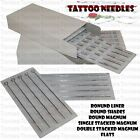 50 Box Sterile Tattoo Needles Lining or Shading Sizes
