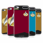 OFFICIAL STAR TREK UNIFORMS AND BADGES TNG GEL CASE FOR APPLE iPOD TOUCH MP3