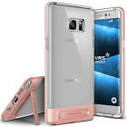 VRS Design [Crystal Bumper] Clear Kickstand Case For Samsung Galaxy Note 7