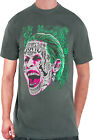 Official DC Comics Suicide Squad The Joker Tattooed Face Clown Prince T Shirt