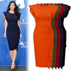 Women's Cocktail Evening Party Casual Workwear Pleated Business Pencil Dresses