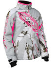 Castle Youth Realtree AP Snow Camo/Pink Launch G3 Snowmobile Jacket Snowcross