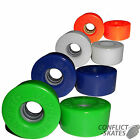 KRYPTO Impulse Quad Roller Skate Derby Wheels x8 Kryptonics Outdoor 62mm 78a
