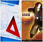 Marvel Avenger Hero Iron Man Plastic Tablecover 1pc Party Decoration