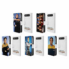 STAR TREK ICONIC CHARACTERS VOY LEATHER BOOK CASE FOR BLACKBERRY ASUS ONEPLUS