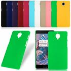 Matte Hard Plastic Slim UV Back Case Cover Skins Protector For ONEPLUS 3 THREE