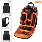 New Waterproof DSLR Backpack Daypack for Canon Nikon Sony Camera Bag Good